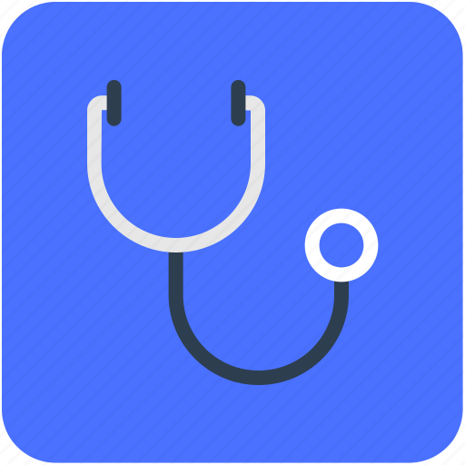 doctor accessories, medical accessories, medical device, phonendoscope, stethoscope icon