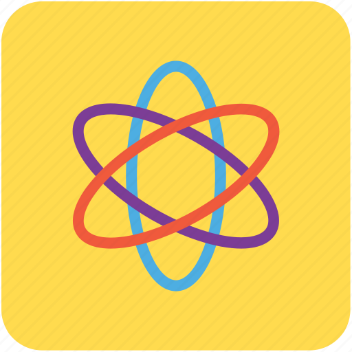 atom, electron, nuclear, physics, science icon
