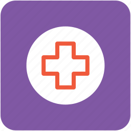 first aid, hospital sign, medical aid, medical cross, medical plus icon