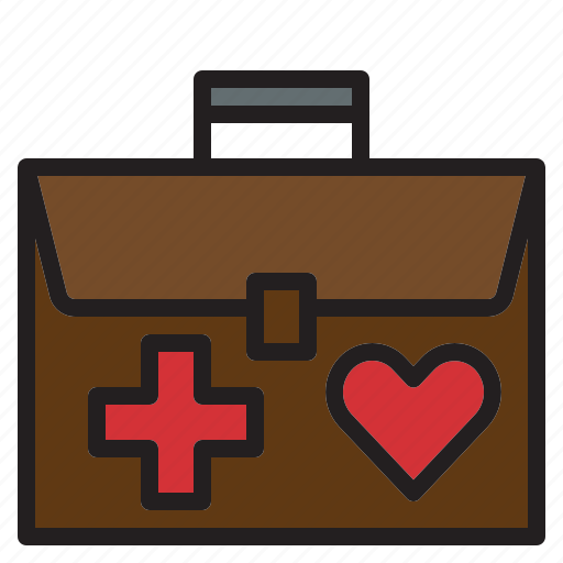 Aid, first, health, heart, hospital, kit, medical icon - Download on Iconfinder