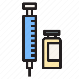 health, hospital, injection, medical, sign icon