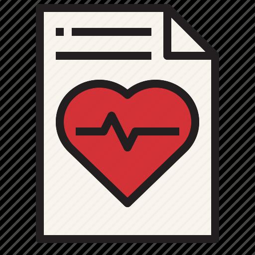 Health, hospital, medical, report, sign icon - Download on Iconfinder