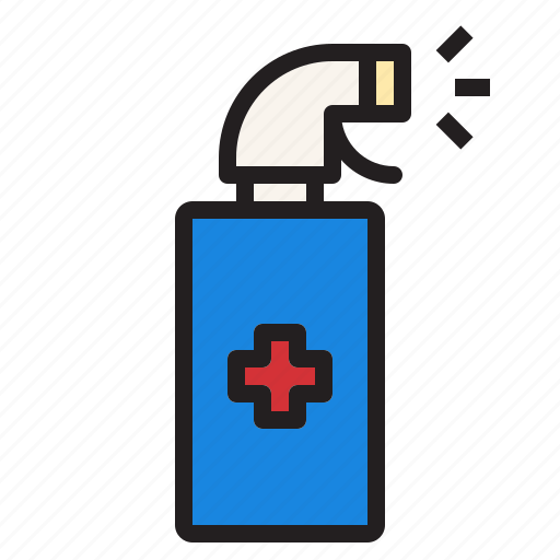 Health, hospital, medical, sign, spray icon - Download on Iconfinder