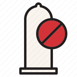 health, hospital, medical, sex, sign, unprotect icon