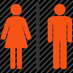 bath, bathroom, door, female, lady, people, restroom, room, sex, toilet, wash, wc icon