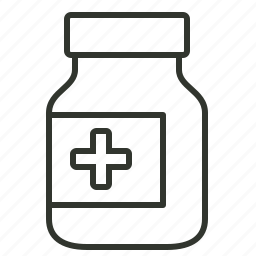 drug, healthcare, medical, medicine syrup, syrup bottle icon