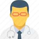 avatar, doctor, medical assistant, physician, surgeon icon