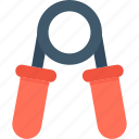 exercise, fitness, grip strengthener, gripper, hand gripper icon