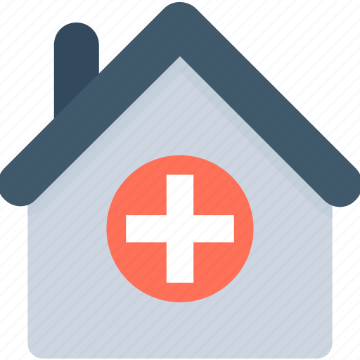 building, health clinic, hospital, medical, medical center icon