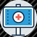 hospital sign, health branding, medical marketing, medical billboard, healthcare