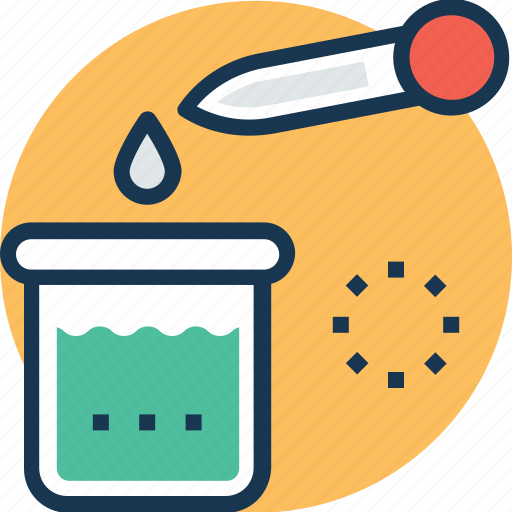chemical research, chemical test, lab research, microbiology, scientific research icon
