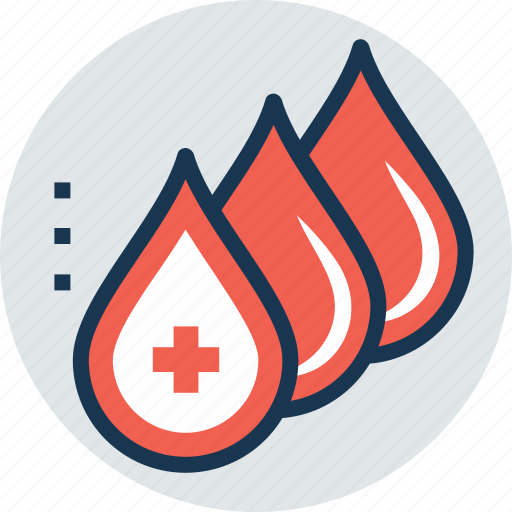 blood aid, blood bank, blood donation, blood drops, healthcare icon