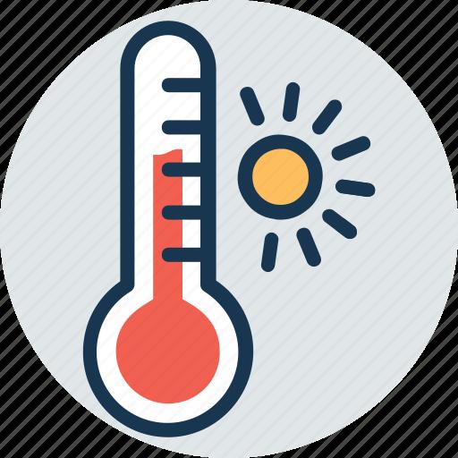 outdoor thermometer, temperature gauge, thermometer, weather instrument, weather thermometer icon