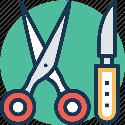 lancet, medical scalpel, operating tools, scissor, surgery icon