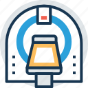 cat scanner, ct scanner, mri diagnostic, mri scanner, scanner tomography icon