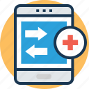 health app, healthcare app, online consultation, mobile app, medical app icon