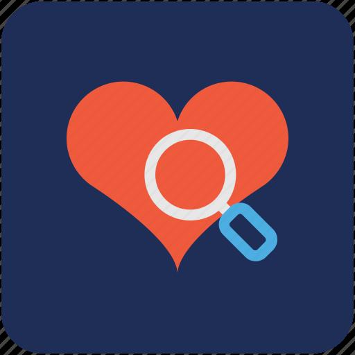 ecg, ekg, heart checkup, heart diagnoses, searching heart icon