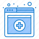 medical, online, services icon