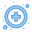 healthcare, medical, sign icon