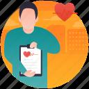 heart doctor, heart report, heart specialist, heart surgeon, human medico icon