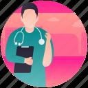 doctor, human doctor, medical person, medico, surgeon icon