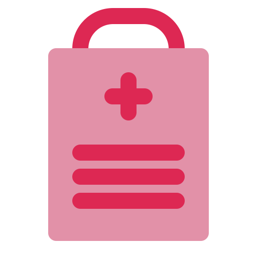 health, medical, medical report icon