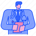 doctor, physician, medical, health, stethoscope, hospital, professional