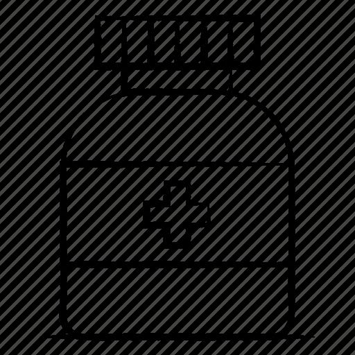 Bottle, hospital, medical, medicine icon - Download on Iconfinder