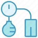 blood, blood pressure check, check, healthy, medical, pressure, sphygmomanometer icon