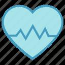 beat, heart, heartbeat, medical, pulse icon