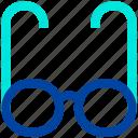 binocular, eye glasses, eyewear, glasses, health, medical icon