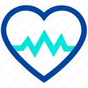 beat, heart, heartbeat, medical, pulse icon