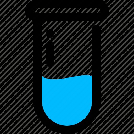 Blood, blood test, test tube icon - Download on Iconfinder
