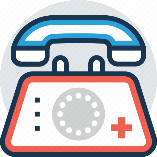 call service, doctor appointment, emergency, medical assistant, medical helpline icon
