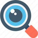 magnifier, magnifying glass, search tool, searching, zoom icon