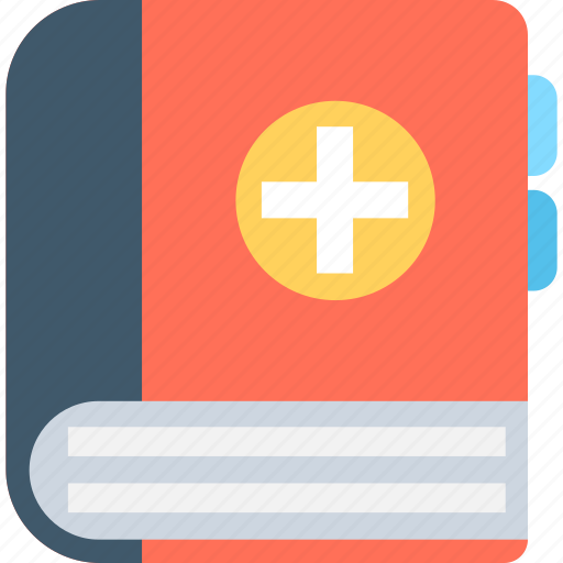 book, booklet, healthbook, medical book, medicine book icon