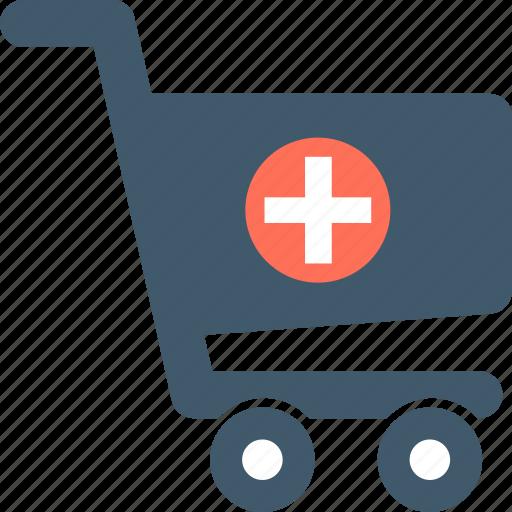 medicine, pharmacy, pharmacy cart, pharmacy logo icon