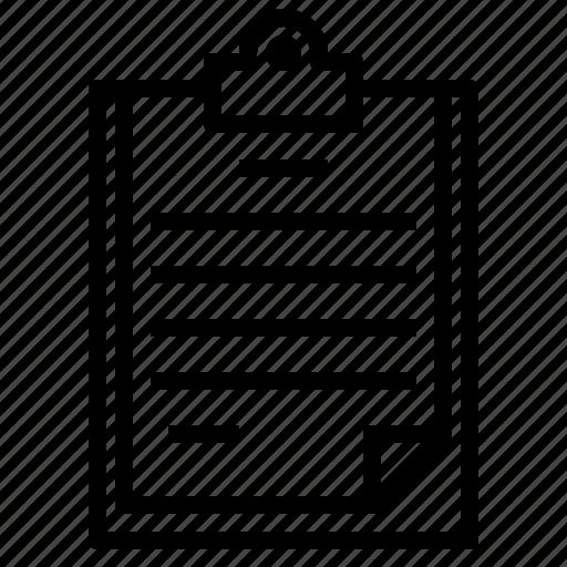 chart, clipboard, health, hospital, medical icon