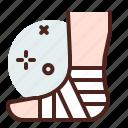 health, hospital, injury, leg