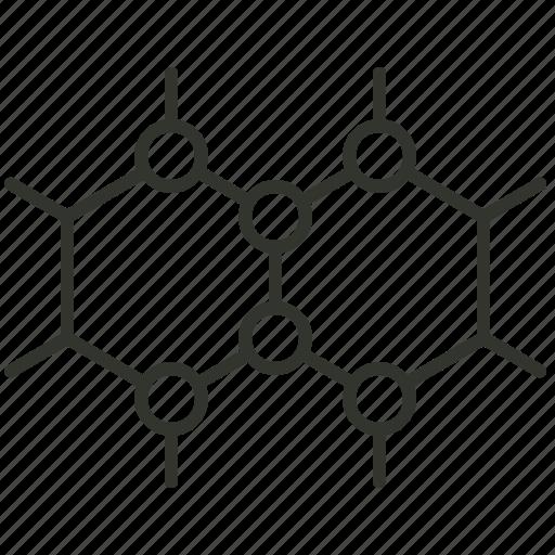 atom, bond, chemical, chemical bond, compound, molecule icon