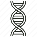 dna, health, healthcare, medical, rna, science icon