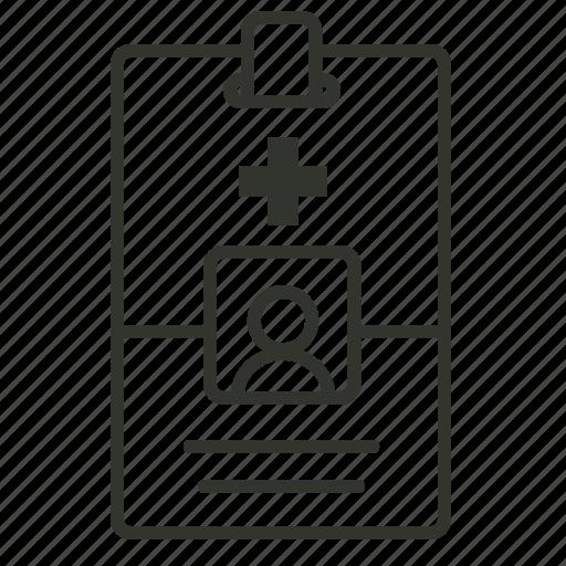 card, healthcare, hospital, id card, medical id icon