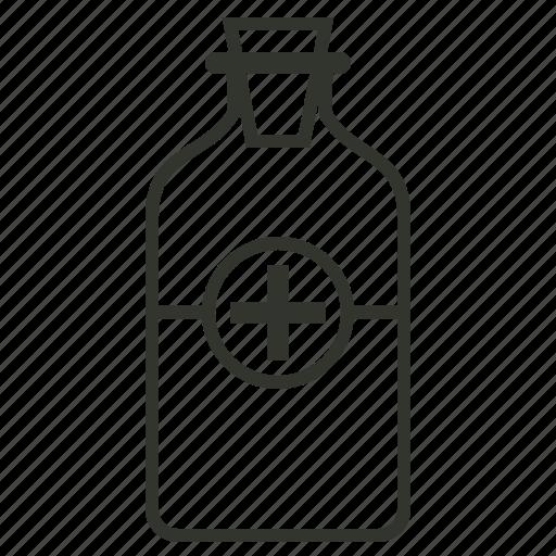 health, healthcare, medical, medicine, syrup, syrup bottle icon