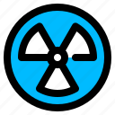 nuclear, radiation, radioactivity icon