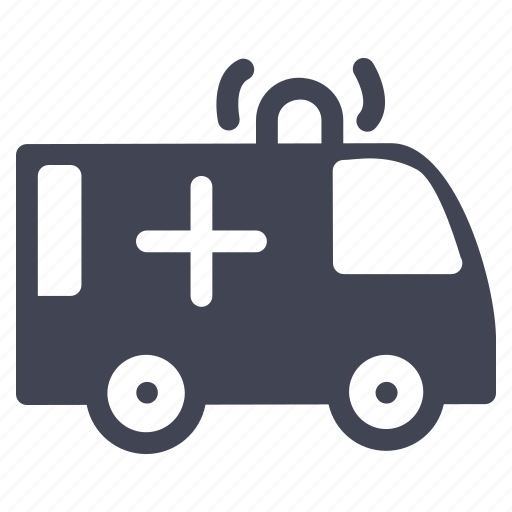 ambulance, emergency, health, healthcare, medical, transportation icon