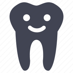 dental, dentist, happy, health, healthcare, medical, tooth icon