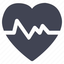 health, healthcare, heart, heartbeat, hospital, medical, test icon