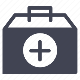 bag, box, emergency, health, healthcare, medical icon