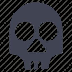 danger, death, healthcare, lethal, medical, skull icon