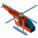emergency, health, healthcare, helicopter, medical, transportation icon